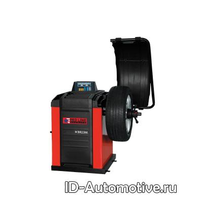 Балансировочный станок полуавтоматический с цифровым дисплеем WBR220L
