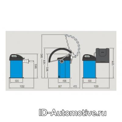 Балансировочный стенд полуавтоматический G2.124R
