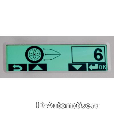 Балансировочный стенд с ручным вводом параметров G2.117H