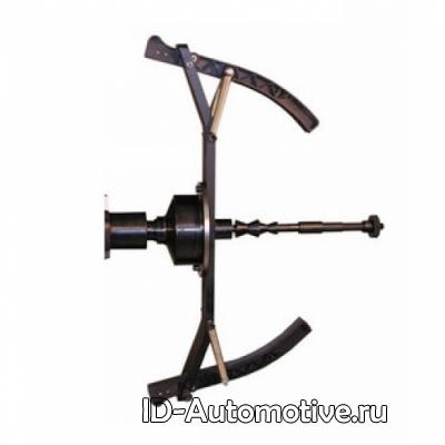 Адаптер для балансировки колес мотоциклов, вал 36 мм, диаметр ЦО 16мм-34мм, для CB1930B, MJ-II.36