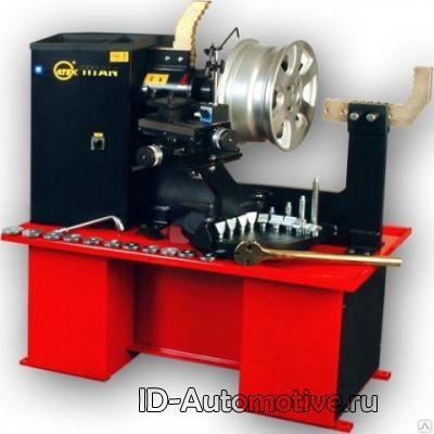 Станок для правки литых и стальных дисков KONIG 15 Т 00 S