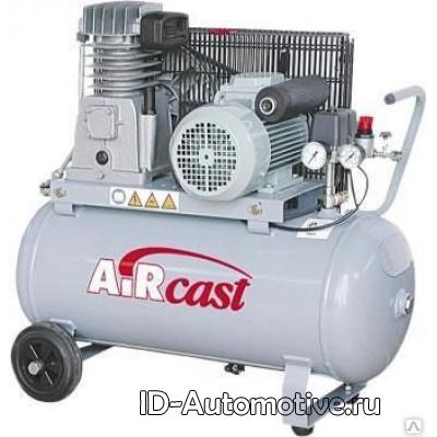 Компрессор с горизонтальным расположением Aircast CБ4/C-100.LH20-2.2