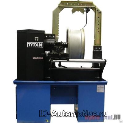 5400 KONIG / TITAN Станок правки литых и стальных дисков