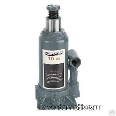 Домкрат бутылочный KraftWell KRWBJ10 г/п 10000 кг.