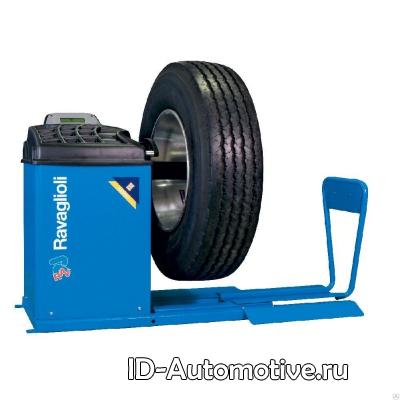 Балансировочный стенд для колес грузовых автомобилей Ravaglioli GTL2.120H