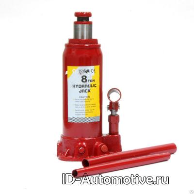 Гидравлический бутылочный домкрат на 8 т. Torin T90804
