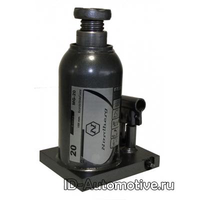 Гидравлический домкрат (бутылочный) Nordberg MG-20, 20 т