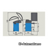 Балансировочный стенд полуавтоматический GP2.124R