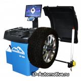 Балансировочный станок, с ЖК-дисплеем, автоматический ввод параметров, для колес до 70 кг, CB1990B