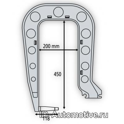 Плечо С4 для C-образных сварочных клещей