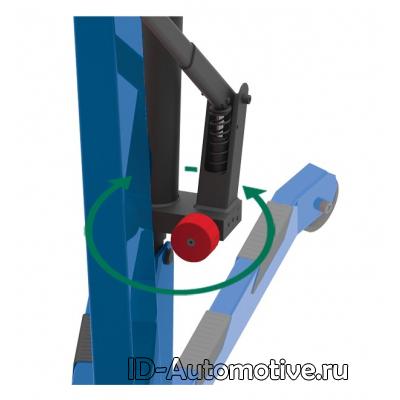 Кран складной г/п 1000 кг однотактный FC-10C