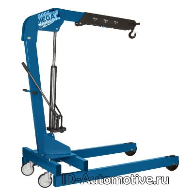 Кран нескладной г/п 2000 кг однотактный, цвет синий NC-20B