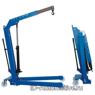 Кран гидравлический W108 (OMA590) складной, г/п 1000 кг