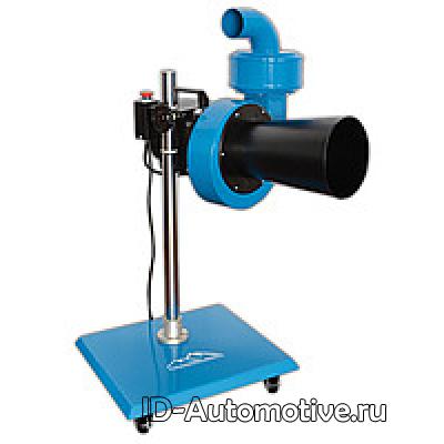 Мобильная установка для вытяжки отработанных газов, вентилятор 900 м3/ч, под шланг 75мм, MFS-0,9M