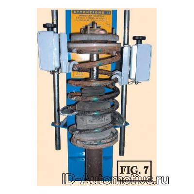 Пресс пневматический TopAuto-Spin (Италия) SS0010Kompact3000