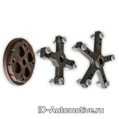 """Адаптер типа """"звездочка"""" для CB1448 - для центровки груз. колес по крепежным отв., A1448.41"""