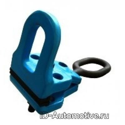 Зажим болтовой для тяги в двух направлениях, 100 мм, 6 т, D104032
