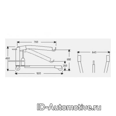 Кран гидравлический специальный 140