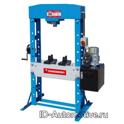 SD0881 пресс гаражный электрогидравлический на 50 тонн