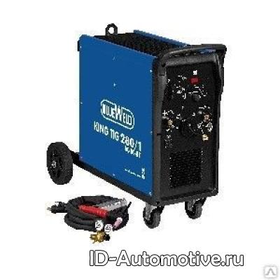 Инвертор аргонодуговой сварки BlueWeld King TIG 280/1 AC/DC, арт. 832201