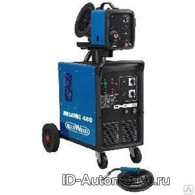 Cварочный полуавтомат BlueWeld Megamig 480 R.A., арт. 822476