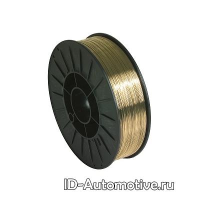 Проволока медно-кремниевая CuSi3 для сварки-пайки (0.8 мм, 1 кг)