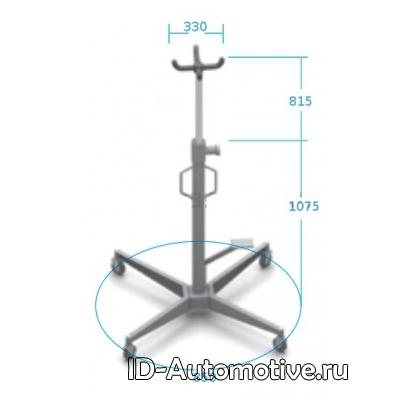 Трансмиссионная гидравлическая стойка N3406