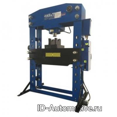 Пресс T612100A 100т с ручным и пневмоприводом