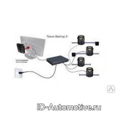 Компьютерный стенд сход-развал Техновектор 5214 N PRRC