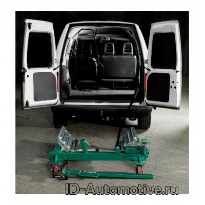 Тележка гидравлическая 1500 кг для снятия колес грузовых автомобилей WD1500