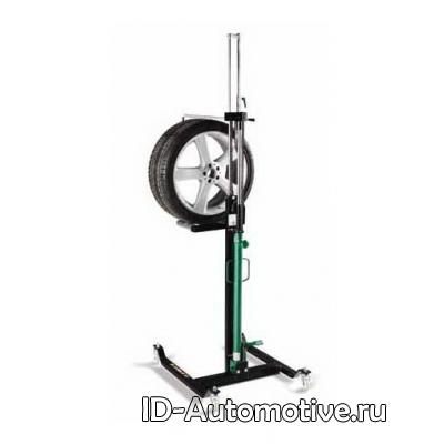Тележка гидравлическая 60 кг для снятия колес легковых автомобилей WD60
