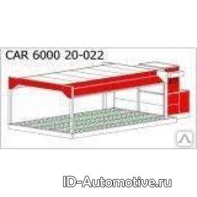 Пост подготовки к окраске c подогревом 20-022