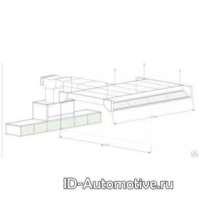 Пост подготовки к окраске без подогрева 20-014 (Plenum 5480 mm)