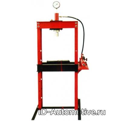 Пресс напольный гидравлический, ручной, усилие 10 т, ZX0901Е