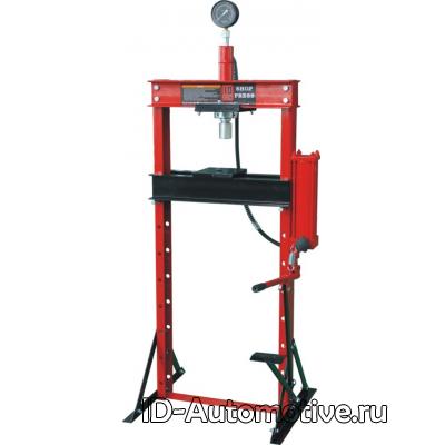 Пресс напольный гидравлический, ручной, усилие 10 т, ZX0901Е-2
