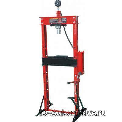 Пресс напольный гидравлический, ручной, усилие 20 т, ZX0901F-1