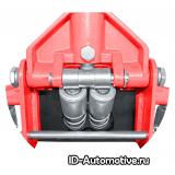 Домкрат подкатной гидравлический, низкопрофильный г/п 3000 кг RFJ3LP