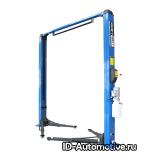 Подъемник двухстоечный г/п 4000 кг. электрогидравлический KRW4MU/220_blue