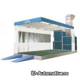 Индустриальная зона подготовки к окраске PA15527