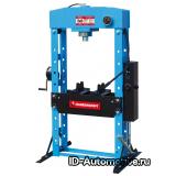 SD0825 пресс гаражный гидравлический на 50 тонн с ручным/ножным приводом