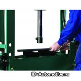 Пресс гидравлический напольный HP50 50 т, с ручным и пневмо приводом