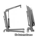 Кран гидравлический W108 (OMA590) серый, складной г/п 1000 кг