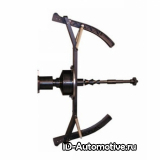 Адаптер для балансировки колес мотоциклов, вал 40 мм, диаметр ЦО 16мм-34мм, для CB1960B, MJ-II.60