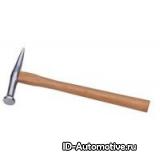 Длинный рихтовочный молоток, поперечная головка 30mm, длина 335mm, вес 140г, D101522E