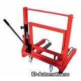 Тележка гидравлическая г/п 700 кг для снятия колес грузовых автомобилей PL701 (OMA600)