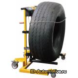 Тележка механическая для снятия колес грузовых автомобилей PR250