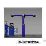 Компьютерный стенд сход-развал 3D Техновектор T 7204 T S