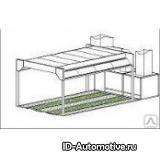 Пост подготовки для коммерческого транспорта CT-14000 BUS-PS