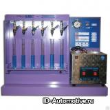 Установка для диагностики и промывки форсунок с ультразвуковой ванной SMC-3
