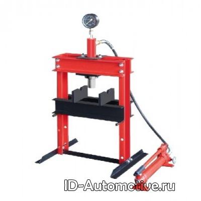 Пресс настольный гидравлический, ручной, усилие 10 т, ZX0901Е-1